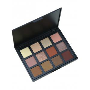 12 Colours Shimmer Matte Powder Eyeshadow Palette - #05