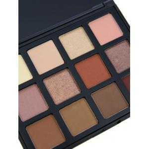 12 Colours Shimmer Matte Powder Eyeshadow Palette -