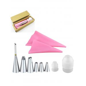 Squeeze Cream Tools Stainless Steel Pastry Piping Nozzle Set