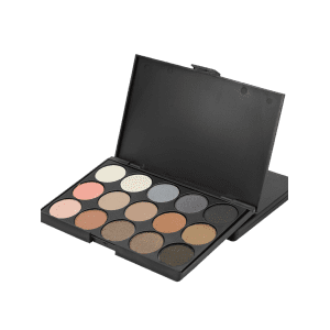 15 Colours Shimmer Matte Powder Eyeshadow Palette - #01