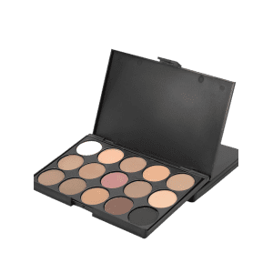 15 Colours Shimmer Matte Powder Eyeshadow Palette -