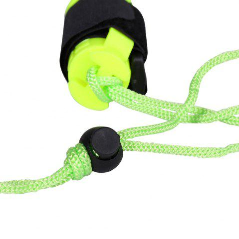 Buy Waterproof Underwater Flashlight with Wristband - NEON GREEN  Mobile
