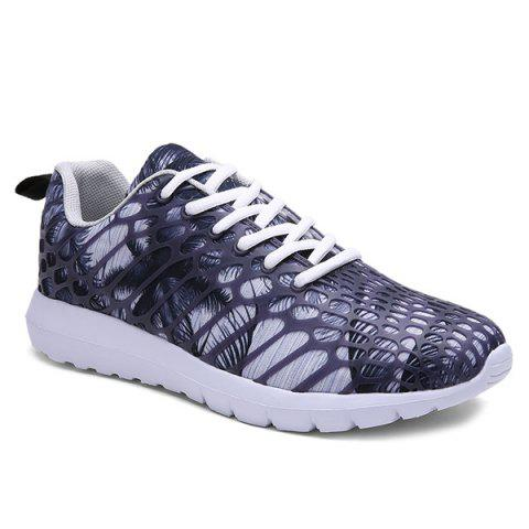 Shops Breathable Printed Athletic Shoes - GRAY 44 Mobile