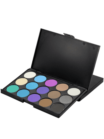 Chic 15 Colours Shimmer Matte Powder Eyeshadow Palette - #03  Mobile