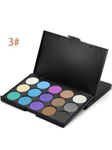 Hot 15 Colours Shimmer Matte Powder Eyeshadow Palette - #03  Mobile