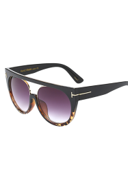 Hollow Cut Flat Top Outdoor Sunglasses -
