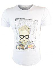 Cartoon Graphic Printed T-Shirt