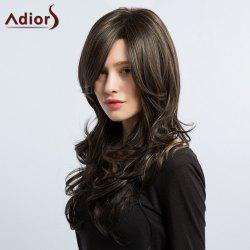 Adiors Long Layered Side Part Hightlight Wavy Synthetic Wig