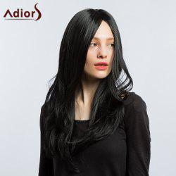 Adiors Long Side Part Silky Natural Straight Synthetic Wig