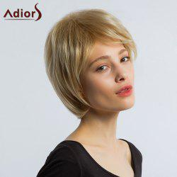 Adiors Layered Short Side Bang Straight Synthetic Wig