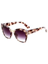 UV Protection Metallic Square Mirrored Reflective Sunglasses - HAWKSBILL