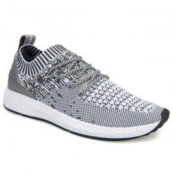 Striped Breathable Casual Shoes