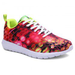 Breathable Printed Athletic Shoes