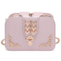Metal Embellished Cross Body Bag