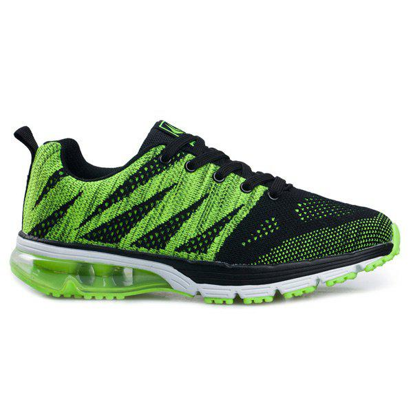 Outfit Breathable Color Block Athletic Sports Mesh Trainers
