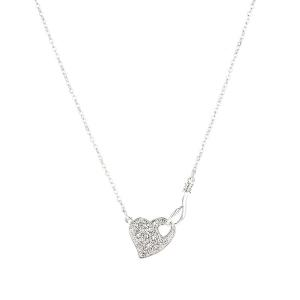 Heart Shape Link Chain Necklace
