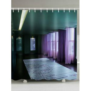 Vintage Interior Design Waterproof Shower Curtain
