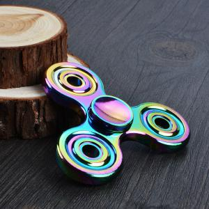 Stress Relief Toy Colorful Hand Spinner Finger Gyro - Multicolore