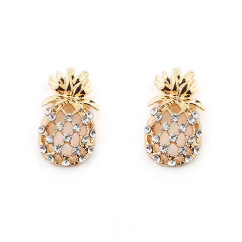 Best Hollow Out Pineapple Shape Earring