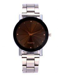 Rhinestone Alloy Strap Wrist Watch