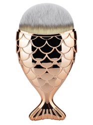 Wide Fiber Mermaid Foundation Brush