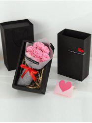 7 Pcs Creative Mother's Day Gift Carnations Soap Artificial Flowers