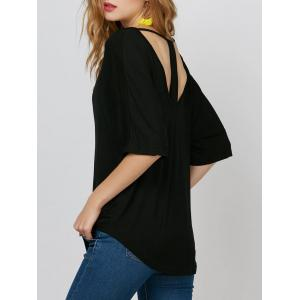 Cut Out Oversized Tee