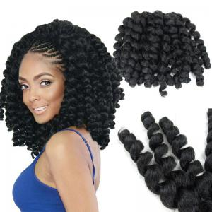 1 Piece Wand Curl Afro Synthetic Hair Extension