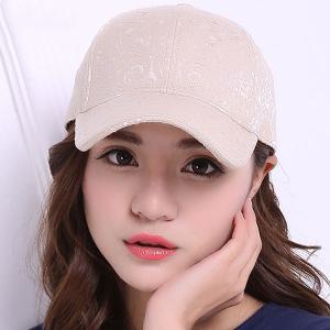 Sunproof Jacquard Baseball Hat - Light Khaki - One Size