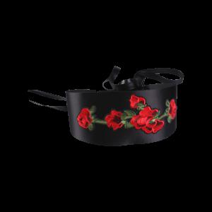 Retro Chinoiserie Flowers Embroidery Corset Belt