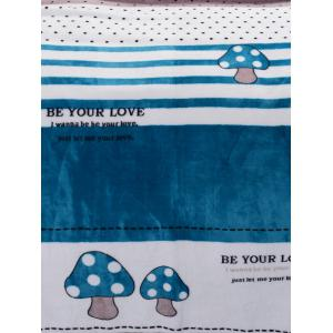 VIP Life Words Mushroom Super Soft Throw Blanket -