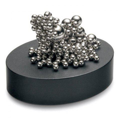 Cheap Stress Relief Toy Magnetic Holder with Stainless Steel Balls - SILVER  Mobile
