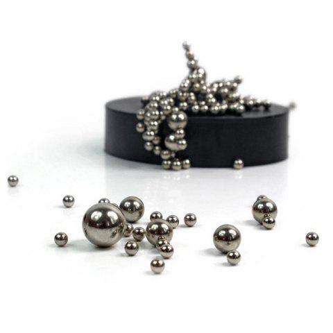 Sale Stress Relief Toy Magnetic Holder with Stainless Steel Balls - SILVER  Mobile