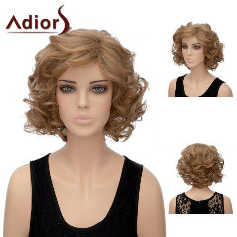 Latest Adiors Short Side Part Layered Shaggy Wavy Synthetic Wig