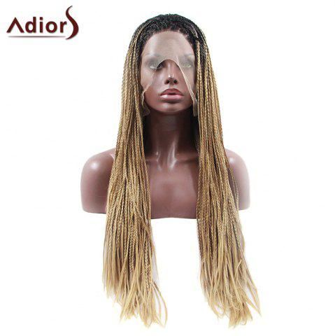 New Adiors Long Afro Colormix Braids Synthetic Wig - COLORMIX  Mobile