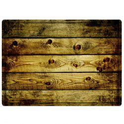 Vintage Wood Flooring Water Absorbing Bathroom Floor Mat