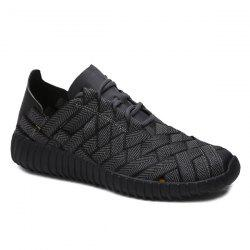 Weaving Breathable Athletic Shoes