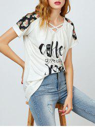 Criss Cross Graphic Tee