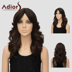 Adiors Long Layered Center Parting Wavy Synthetic Wig