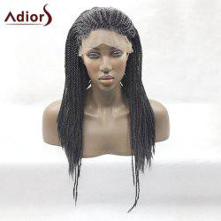 Adiors Long Twist Braid Lace Front Synthetic Wig