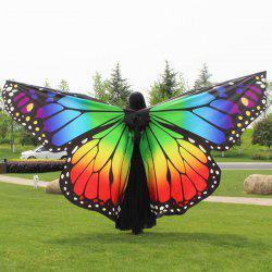 Butterfly Wing Waterproof Ombre Cape Chiffon Pashmina