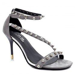 Ankle Strap Beads Sandals