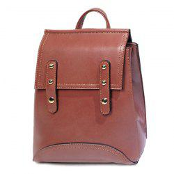 Faux Leather Multi Way Backpack