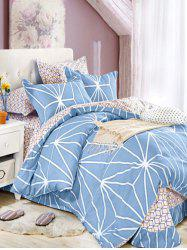 Queen Size Printed Super Soft 4Pcs Bedding Set