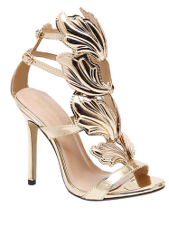 Stiletto Heel Double Belt Buckle Sandals -