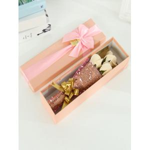 Simulation Rose Soap Flowers Bouquet Festival Gift -