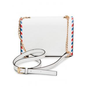 Chain Envelope Printed Crossbody Bag -