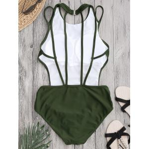 Back Strappy Padded Swimwear -