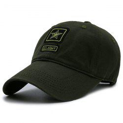 Pentagram Embellished Army Element Baseball Hat