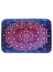 Mandala Coral Fleece Water Absorption Rug